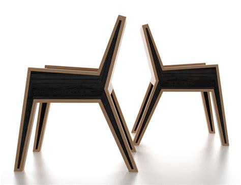 Esszimmer Le Holz Selber Bauen markantes design moderner holz esszimmerst 252 hle freshouse