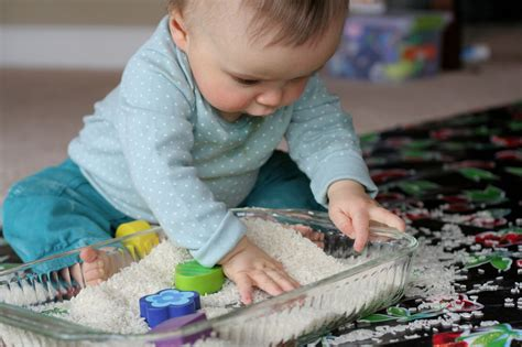 Top 10 Activities With Your Infant by 10 Easy Sensory Bins Tables For Babies Toddlers And