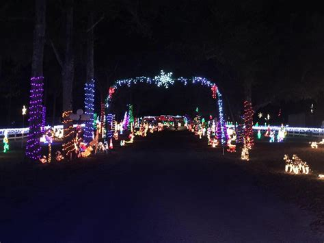 sowell s north pole christmas light display simply pensacola