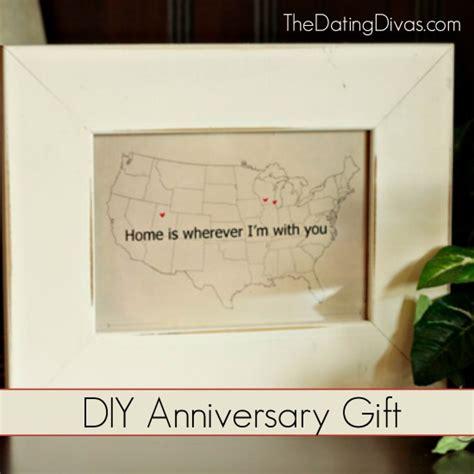 diy gifts for anniversary anniversary gift diy