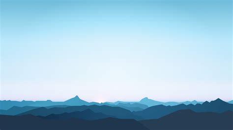 minimalist mountains wallpaper mountains silent silhouette minimal hd 5k
