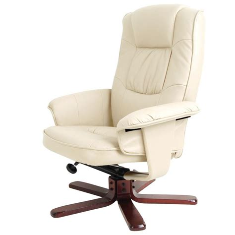 swivel chair and ottoman pu leather swivel recliner lounge chair and ottoman buy