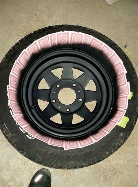 spray paint rims easy way to diy spray paint rims