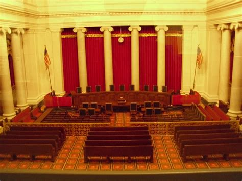Supreme Court Room by Muhammad Pbuh In Us Supreme Court Yes There Is