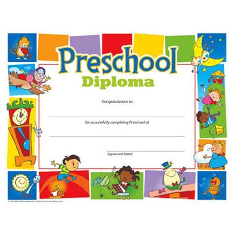 printable toddler graduation certificates 25 best images about diplomas on pinterest template