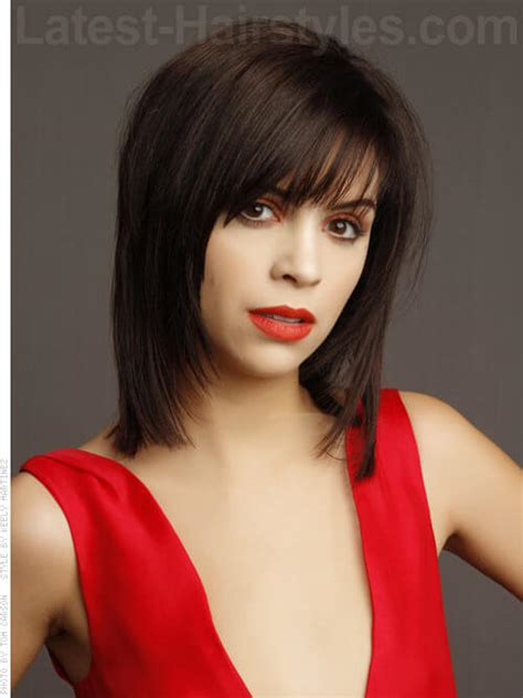 shag type hair does with hair tucked behind ears 45 chic medium shag hairstyles haircuts for women 2018
