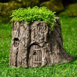garden tree stump planter the green