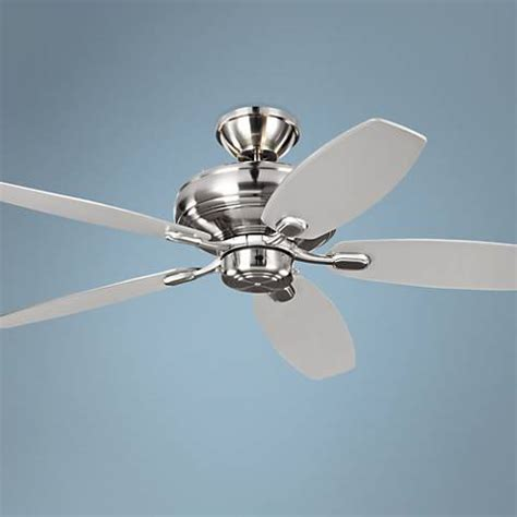 monte carlo maverick max 70 inch brushed steel ceiling fan 60 quot monte carlo maverick brushed steel koa ceiling fan