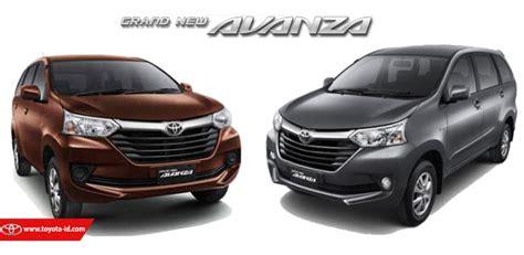 Toyota Grand New Avanza 1 3 E M T perbedaan toyota grand new avanza 1 3 e dengan 1 3 g