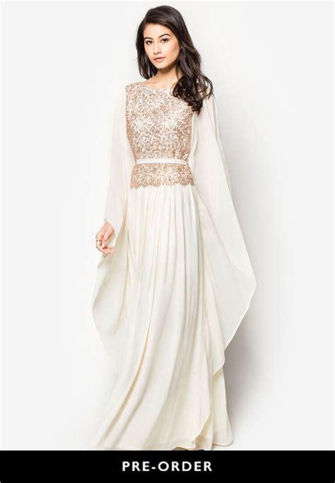 Zalora Baju Muslim Zalia zalia embellished kaftan dress zalora malaysia baju kurung kaftan