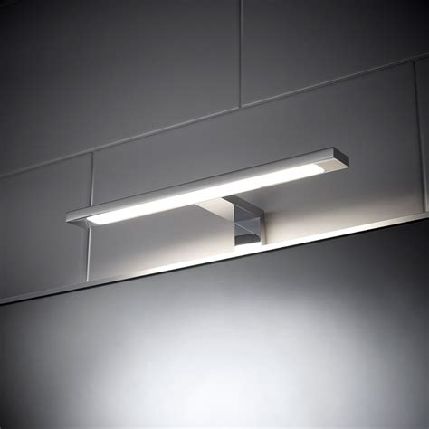 led light bathroom mirror t bar sensio neptune