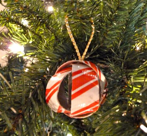 make it easy crafts dimensional duct tape christmas ball