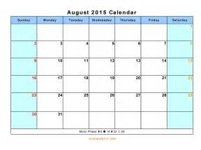 Printable 2015 Monthly Calendar Template by 14 Free Calendar Templates Images Free Monthly Calendar