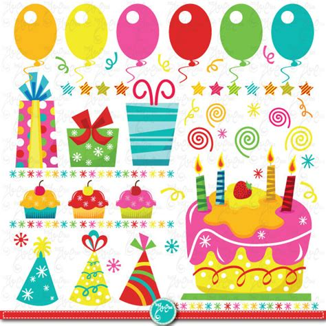 compleanno clipart birthday clip birthday partyclipart by