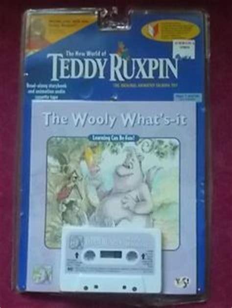 teddy ruxpin cassette 6 vtg the world of teddy ruxpin matching books cassette