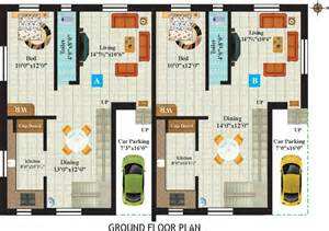 Twin Home Plans Overview Anandam S Platinum At Iyyapanthangal Chennai