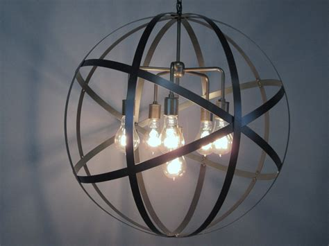 ideas glass globe lighting ideas creative home decor sphere chandelier more views iron chandelier sphere