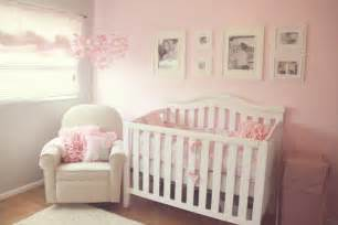 pink and white nursery pretty pink white and gray nursery the little umbrella