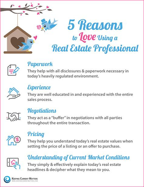 should i be a realtor 5 reasons to love using a real estate professional