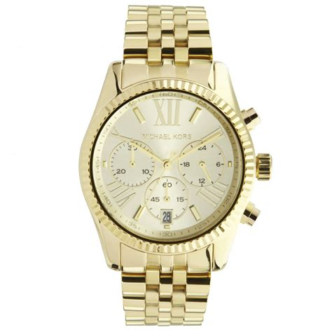 michael kors mk ladies gold tone  cheapest