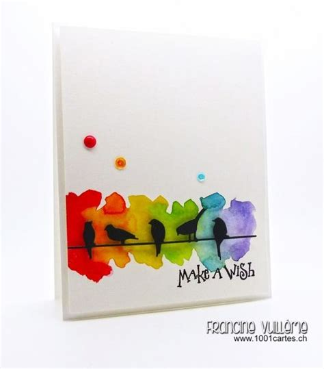 how to make watercolor cards 25 best ideas about watercolor cards on easy