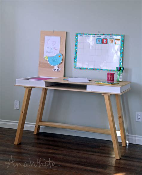 diy study desk white modern 2x2 desk base for build your own study desk plans diy projects