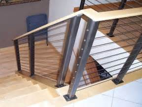 Stainless Steel Railing System Ultra Tec 174 Stainless Steel Railing System Modern Staircase