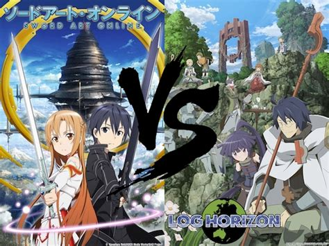 log horizon sao vs log horizon which one is a better mmorpg themed
