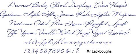 Bowfin Printworks - Script Font Identification - Antique ... H Alphabet Designs