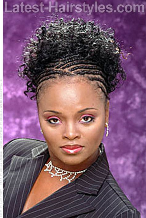 loose braid hairstyle for black women these curly weave styles are not limited to loose wave