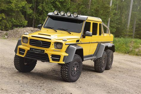 mansory mercedes g63 mercedes g63 amg 6x6 tuned to 840 hp by mansory stuffed