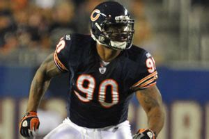 Hudson Turns Chicago Bears Tommie Harris by Important Players Beardown Chicago Bears Uk