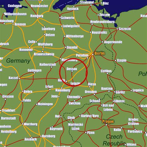 dessau map dessau ro 223 lau rail maps and stations from european rail guide