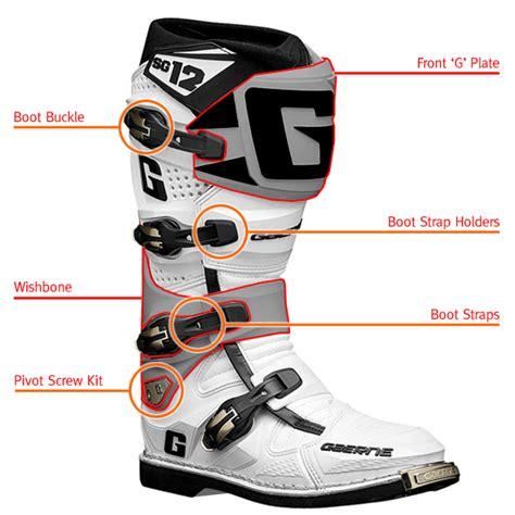 motocross boot straps gaerne sg12 motocross boot spares straps
