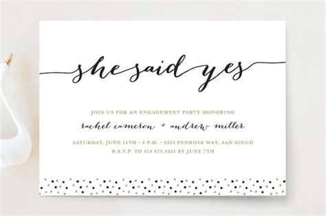 how to word engagement party invitations with exles