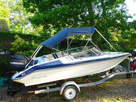 bimini top for speedboat picton royale 156 speed boat with bimini top 75hp outboard