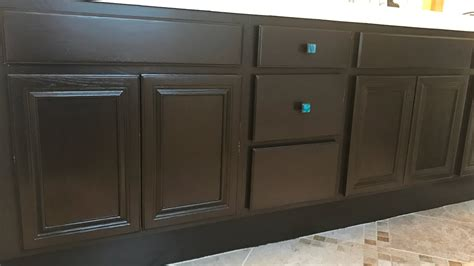 how to paint stained cabinets how to use gel stain to paint cabinets diy doovi
