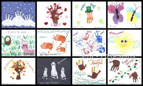 Handprint Calendar Ideas handprint calendar ideas here are the month prints