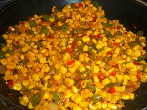 from the kitchen of mama harris skillet fried corn with a kick
