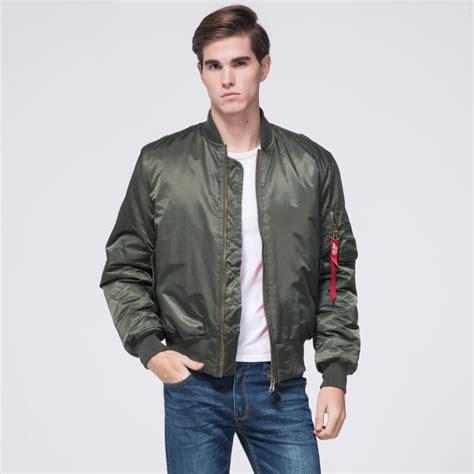 Flight Bomber Jacket Green Army Cewek freelee 2017 high quality ma1 winter army green