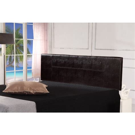 Brown Leather Headboard King by King Size Pu Leather Headboard Bedhead In Brown Buy King