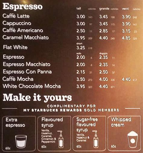 Starbucks Menu, Menu for Starbucks, Swords, Dublin   Zomato Ireland
