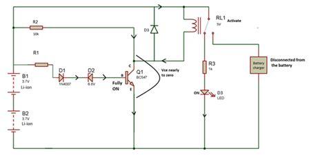 capacitor overcharge protection circuit battery overcharging protection circuit with automatic cut engineersgarage