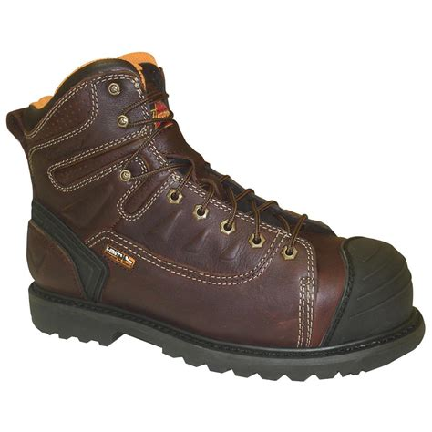 lace to toe work boots s thorogood 174 6 quot waterproof lace to toe i met composite