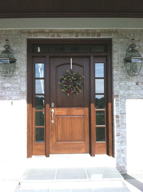 Best 25 Traditional Front Doors Ideas On Pinterest Dark Traditional Front Door Colors