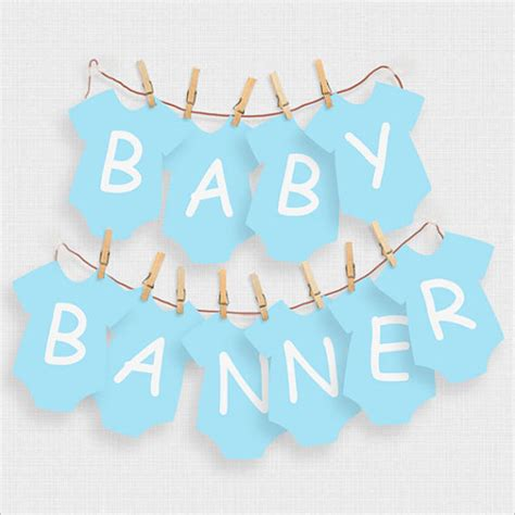 template baby shower psd 32 baby shower banner templates free psd word design ideas
