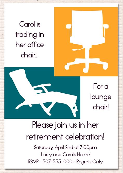 farewell dinner for colleague retirement party invitation wording