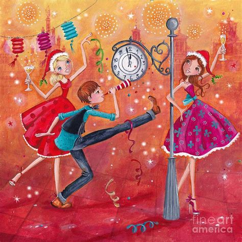 painting for new year new year wishes painting by caroline bonne muller