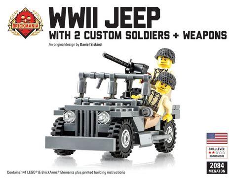 brickmania jeep brickmania wwii jeep megaton bundle 110 00 http www