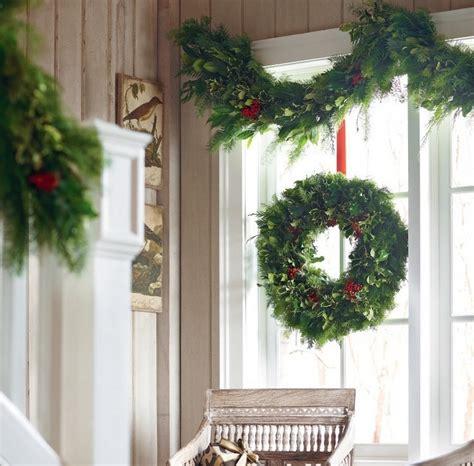 Fensterdeko Weihnachten Girlande by Fensterdeko Zu Weihnachten Basteln Charmante Diy Ideen